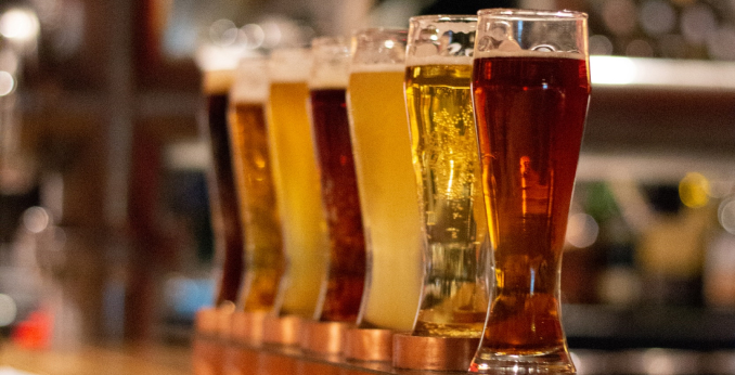 Mehrere Bier
